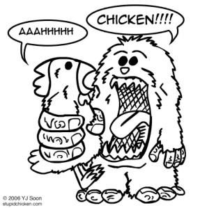 sasquatch chicken
